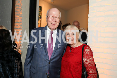 Sen. Pat Leahy and Marcelle Leahy. Photo by Tony Powell. 2019 Cafritz Welcome Back from Summer. September 8, 2019