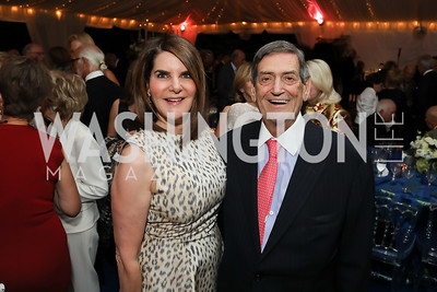 Jackie and Ken Duberstein. Photo by Tony Powell. 2019 Cafritz Welcome Back from Summer. September 8, 2019