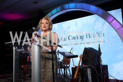"Sharon Casey. Photo by Tony Powell. 2019 Capital Caring ""Passion for Caring"" Gala. Ritz Carlton Tysons Corner. November 16, 2019"