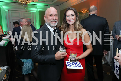 "Bob and Kate Hansan. Photo by Tony Powell. 2019 Capital Caring ""Passion for Caring"" Gala. Ritz Carlton Tysons Corner. November 16, 2019"