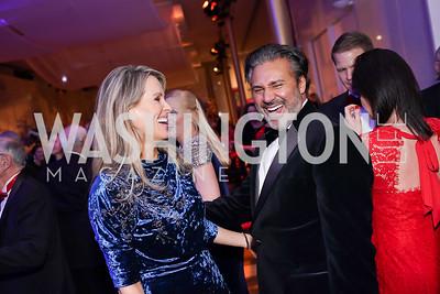 Karen and Chuck Ghoorah. Photo by Tony Powell. 2019 Choral Arts Gala. Kennedy Center. December 16, 2019
