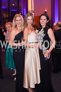 Lara MCauley, Kelsey Agostinelli, Hanna Buckley. Photo by Tony Powell. 2019 Choral Arts Gala. Kennedy Center. December 16, 2019