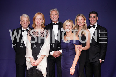 Hans Haber and Germany Amb. Emily Haber, Marty and Sue Goodhart, Allison Goodhart-DuShuttle and Doug DuShuttle. Photo by Tony Powell. 2019 Choral Arts Gala. Kennedy Center. December 16, 2019