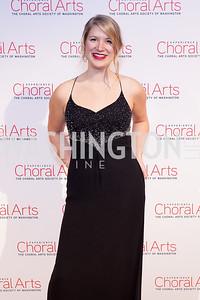 Juliane Meyer. Photo by Tony Powell. 2019 Choral Arts Gala. Kennedy Center. December 16, 2019