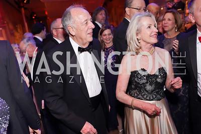 John Prather, Cathy Jones. Photo by Tony Powell. 2019 Choral Arts Gala. Kennedy Center. December 16, 2019
