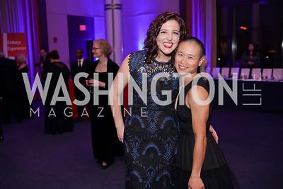 Heather MacDonald, Julie Tucker. Photo by Tony Powell. 2019 Choral Arts Gala. Kennedy Center. December 16, 2019