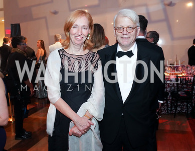 Germany Amb. Emily Haber and Hans Haber. Photo by Tony Powell. 2019 Choral Arts Gala. Kennedy Center. December 16, 2019