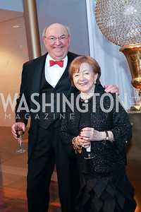 Richard Frank and Dr. Irma Frank. Photo by Tony Powell. 2019 Choral Arts Gala. Kennedy Center. December 16, 2019