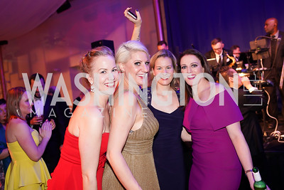 Liz Romig, Sara Berger, Kathleen Romig, Emily Riffle. Photo by Tony Powell. 2019 Choral Arts Gala. Kennedy Center. December 16, 2019