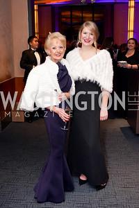 Carol Lascaris, Juliane Meyer. Photo by Tony Powell. 2019 Choral Arts Gala. Kennedy Center. December 16, 2019