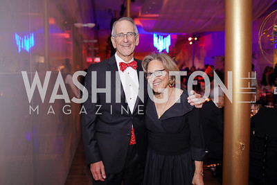 Mark and Margot Bisnow. Photo by Tony Powell. 2019 Choral Arts Gala. Kennedy Center. December 16, 2019