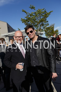 Rick Wilson, Nick Gillespie (Reason) Photo by Naku Mayo The Daily Beast WHCD Cocktail Party April 27, 2019