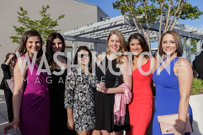 Arianna Roumeliotes, Chelsea Bellomy, Marisa Fernandez, Haley Britzky, Alayna Treene, Morgan Stanley Photo by Naku Mayo The Daily Beast WHCD Cocktail Party April 27, 2019