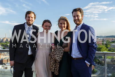Ryan Pfister, Taylor Maxwell, Lizzie Ulmer, James Clarke Photo by Naku Mayo The Daily Beast WHCD Cocktail Party April 27, 2019