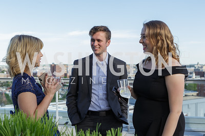 Lindsey Ellefson, Jared Holt, Jennifer Hansler Photo by Naku Mayo The Daily Beast WHCD Cocktail Party April 27, 2019