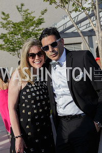 Ken Zimmerman, Kanal Faour Photo by Naku Mayo The Daily Beast WHCD Cocktail Party April 27, 2019