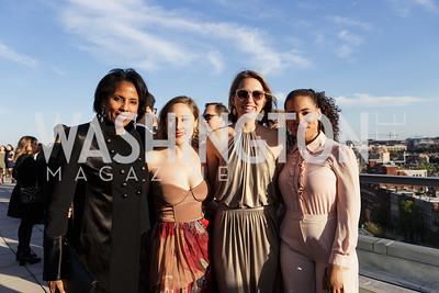 Lisa Davis, Kathryn Alexander, Heather Dietrick,  Brooke Howard Photo by Naku Mayo The Daily Beast WHCD Cocktail Party April 27, 2019
