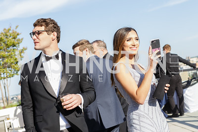 Alex Thomas, Nicole Lopez-Alvar Photo by Naku Mayo The Daily Beast WHCD Cocktail Party April 27, 2019
