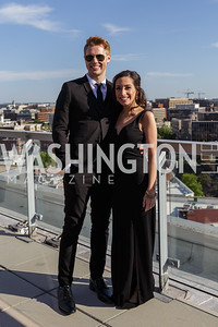 Robby and Carrie Soave Photo by Naku Mayo The Daily Beast WHCD Cocktail Party April 27, 2019