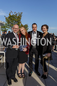 Rick Wilson, Molly Jong-Fast, Will Rabbe, Valerie McCabe Photo by Naku Mayo The Daily Beast WHCD Cocktail Party April 27, 2019