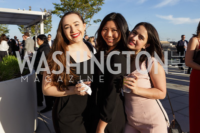 Jessica Lara, Lisa Zhang, Claudia Nunez-Eddy Photo by Naku Mayo The Daily Beast WHCD Cocktail Party April 27, 2019