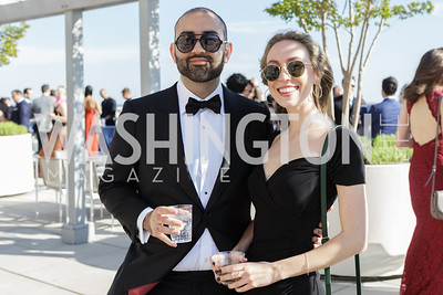 Oliver Darcy, Elise Shae  Photo by Naku Mayo The Daily Beast WHCD Cocktail Party April 27, 2019