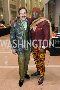 Jose Alberto Ucles, Chinedu Felix Osuchukwu. Photo by Tony Powell. 2019 Flicks 4 Change. Reagan Building. November 10, 2019