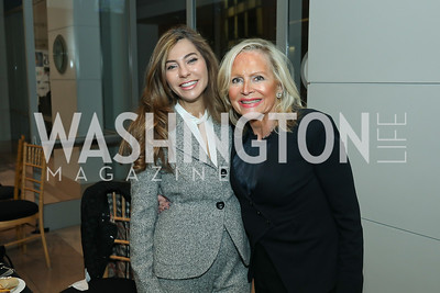 Yasmine Askelani, Deborah Sigmund. Photo by Tony Powell. 2019 Flicks 4 Change. Reagan Building. November 10, 2019