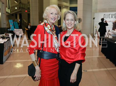 Lola Reinsch, Lori Carbonneau. Photo by Tony Powell. 2019 Flicks 4 Change. Reagan Building. November 10, 2019