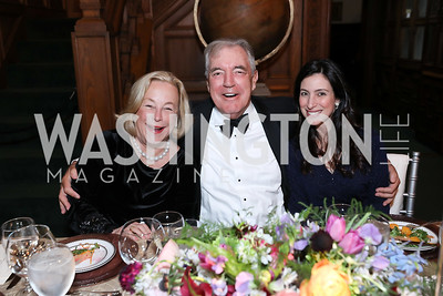 Betsy Kleeblatt, Philip Bermingham, Joyce Ward. Photo by Tony Powell. 2019 Folger Gala. April 15, 2019