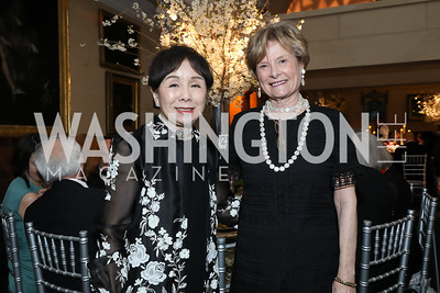 Rep. Doris Matsui, Molly Raiser. Photo by Tony Powell. 2019 Folger Gala. April 15, 2019