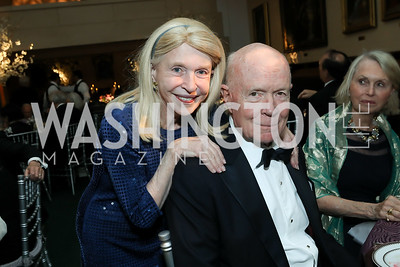 Shannon Fairbanks, Thor Halvorson. Photo by Tony Powell. 2019 Folger Gala. April 15, 2019