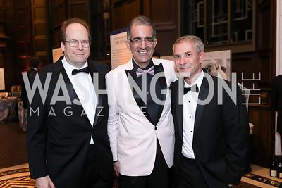 Scott Vance, Mark Alves, Ray Bauer. Photo by Tony Powell. 2019 Folger Gala. April 15, 2019