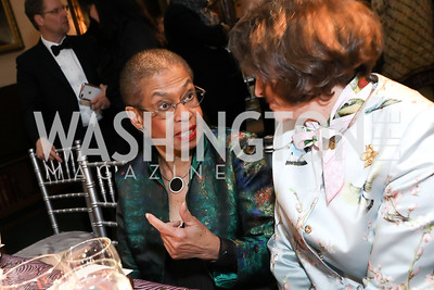 Rep. Eleanor Holmes Norton. Photo by Tony Powell. 2019 Folger Gala. April 15, 2019