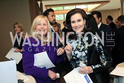 Susan Blumenthal, Alexandra de Borchgrave. Photo by Tony Powell. 2019 AUAF Gala. Four Seasons. June 17, 2019