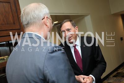 Gen. Mike Meese, Gen. David Petraeus. Photo by Tony Powell. 2019 AUAF Gala. Four Seasons. June 17, 2019