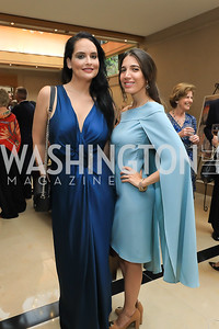 Bassima Alghussein, Suzanne Kianpour. Photo by Tony Powell. 2019 AUAF Gala. Four Seasons. June 17, 2019