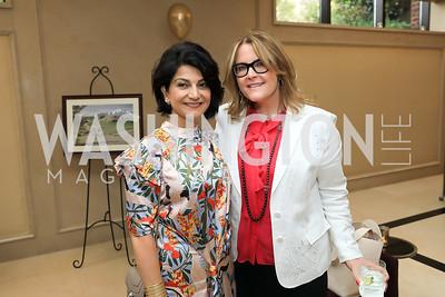 Shamim Jawad, Rachel Pearson. Photo by Tony Powell. 2019 AUAF Gala. Four Seasons. June 17, 2019
