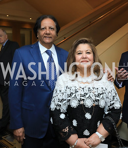 Ray and Shaista Mahmood. Photo by Tony Powell. 2019 AUAF Gala. Four Seasons. June 17, 2019