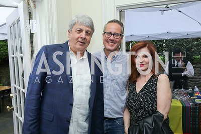 Carl Hulse, Will Carter, Maureen Dowd. Photo by Tony Powell. 2019 Gringos and Mariachis. May 5, 2019