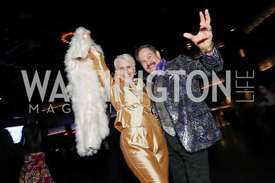 Jan Du Plain, Jose Alberto Ucles. Photo by Tony Powell. 2019 Helen Hayes Awards. The Anthem. May 13, 2019