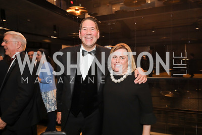 David Lloyd, Allison Stockman. Photo by Tony Powell. 2019 Helen Hayes Awards. The Anthem. May 13, 2019