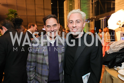 Christian Zapatka, Alan Paul. Photo by Tony Powell. 2019 Helen Hayes Awards. The Anthem. May 13, 2019