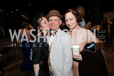 Emma Jaster, Mark Jaster and Sabrina Mandell. Photo by Tony Powell. 2019 Helen Hayes Awards. The Anthem. May 13, 2019
