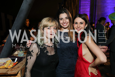 Brieahn DeMeo, Kate Thompson, Lauren McMillen. Photo by Tony Powell. 2019 Helen Hayes Awards. The Anthem. May 13, 2019