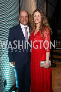Philips' North America CEO Vitor Rocha and Paula Rocha. Photo by Tony Powell. 2019 Heroes & History Makers. The Anthem. October 23, 2019