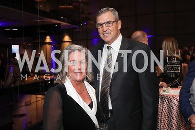 Brenda and Mike Linnington. Photo by Tony Powell. 2019 Heroes & History Makers. The Anthem. October 23, 2019