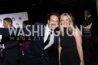Marc Adelmam, Libby Leist. Photo by Tony Powell. 2019 Heroes & History Makers. The Anthem. October 23, 2019