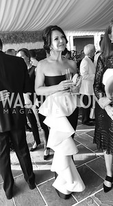 "Melanie Hansen. Photo by Tony Powell. 2019 Hillwood ""Black & White"" Gala. June 4, 2019"