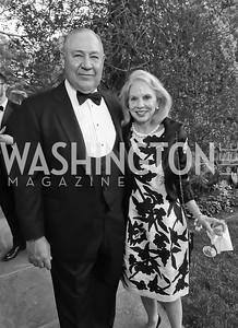 "Gen. Chuck and Marilyn Wald. Photo by Tony Powell. 2019 Hillwood ""Black & White"" Gala. June 4, 2019"